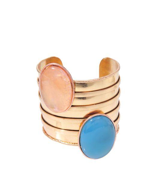 Sylvia Toledano | Metallic Twins Pink Gold Cuff | Lyst