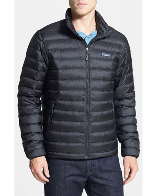 Patagonia | Black Water Repellent 800 Fill Power Down Jacket for Men | Lyst