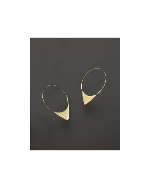 Lana Jewelry | Metallic 14k Yellow Gold Small Magic Elite Hoop Earrings | Lyst