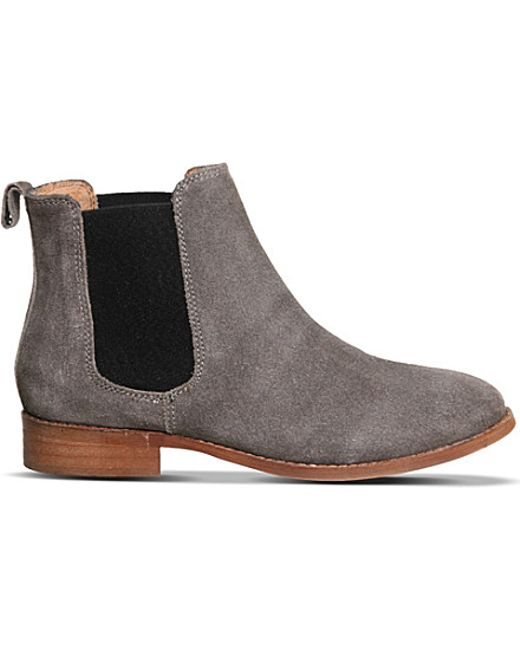 Awesome  Suede Chelsea Boots Sale Grey Suede U14s4553  Office Women Shoes