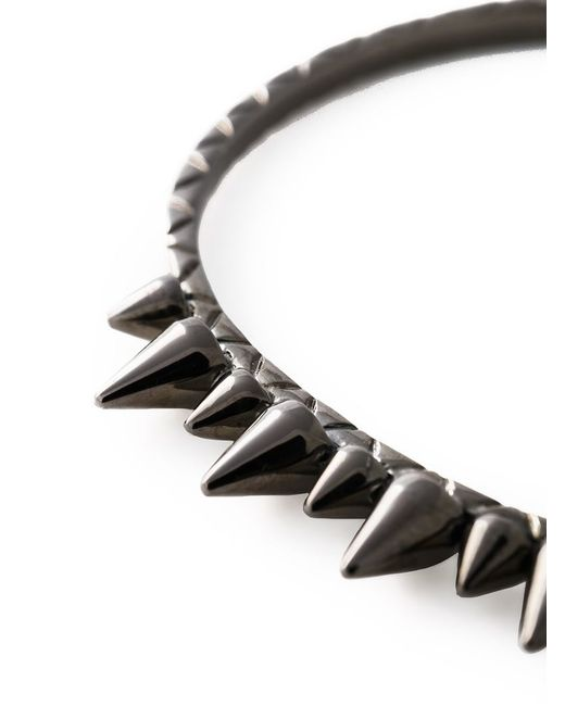 Joelle Jewellery   Metallic Joëlle Jewellery 'spike' Bangle   Lyst