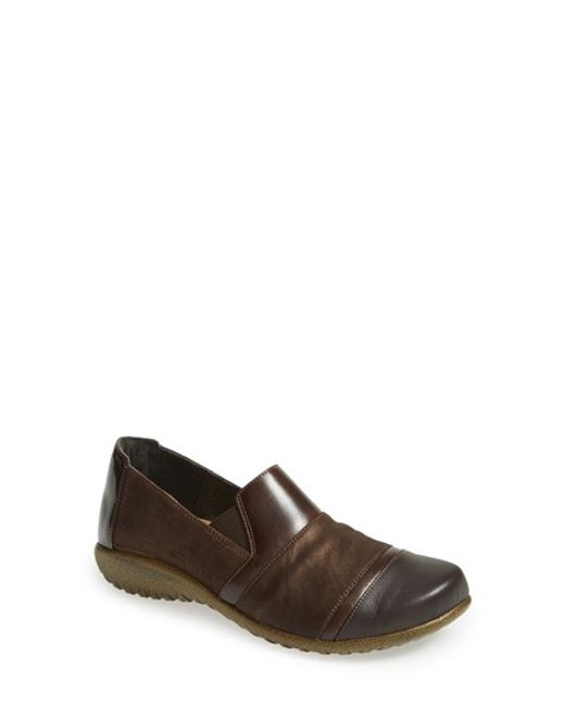 Naot | Brown 'miro' Loafer | Lyst