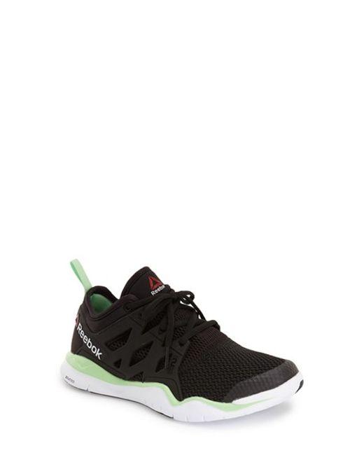 Black Gym Shoe Wedges
