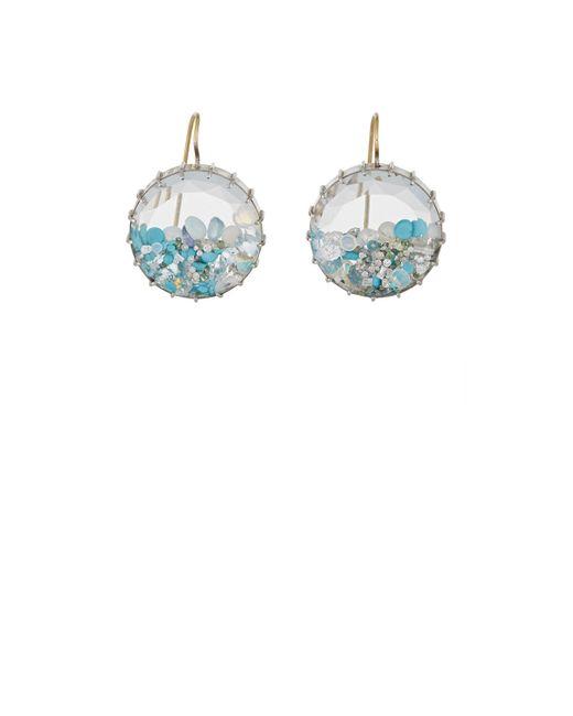 Renee Lewis   Blue Shake Drop Earrings   Lyst