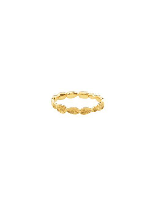 Melinda Maria | Metallic Mosaic Pod Ring | Lyst