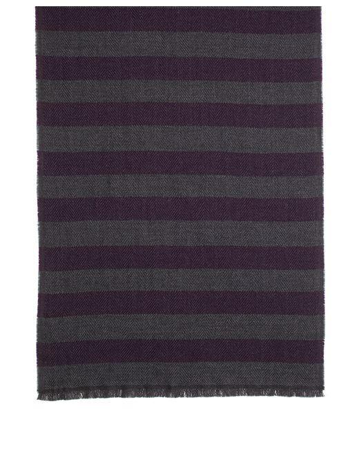 Brooks Brothers | Purple Herringbone Stripe Scarf for Men | Lyst