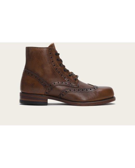 Frye | Brown Arkansas Wingtip Boot for Men | Lyst