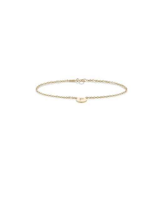 Jennifer Meyer | Multicolor Initial k Disc Bracelet | Lyst