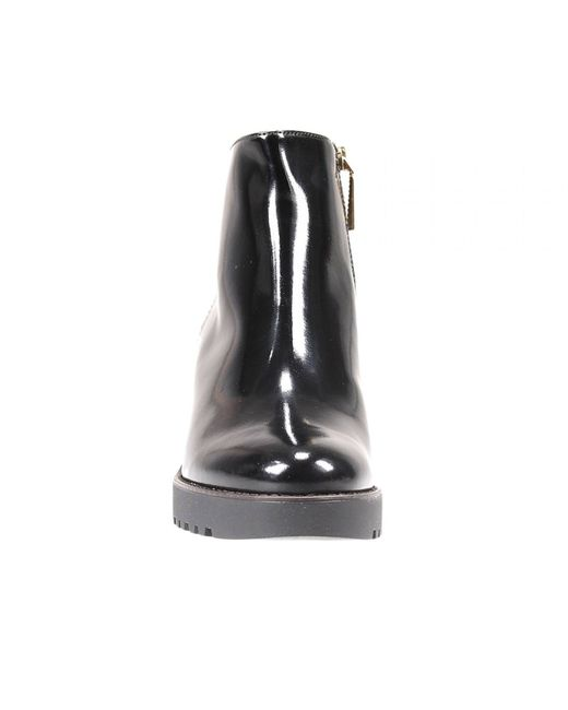 Hogan   Black Ankle Boots   Lyst