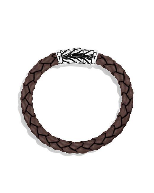 David Yurman | Chevron Bracelet In Brown for Men | Lyst