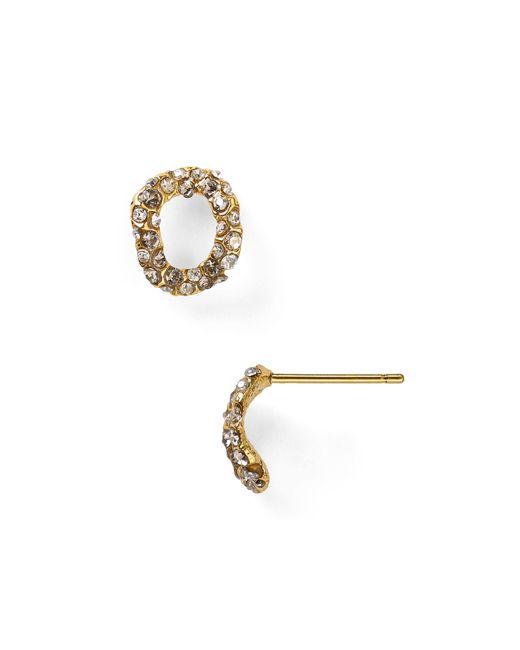 Alexis Bittar | Metallic Elements Jardin De Papillon Chain Link Stud Post Earrings | Lyst