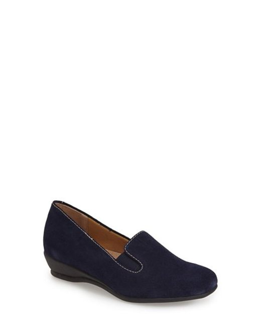Trotters | Blue 'Lamar' Loafer | Lyst