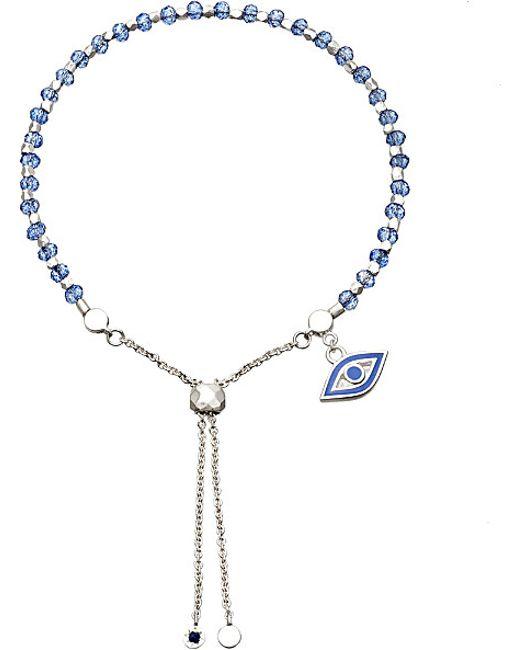 Astley Clarke | Metallic Evil Eye Sterling Silver Kula Bracelet | Lyst
