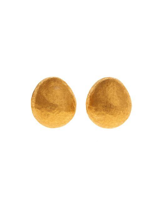 Yossi Harari | Metallic Roxanne 24k Gold Earrings | Lyst