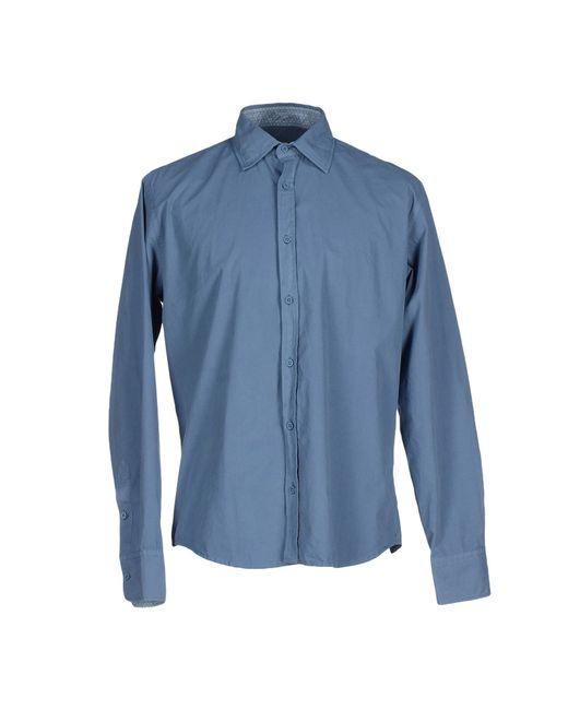 Smythson   Gray Shirt for Men   Lyst