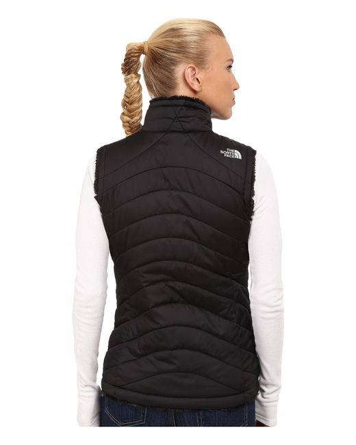 The North Face | Black Mossbud Swirl Reversible Vest | Lyst
