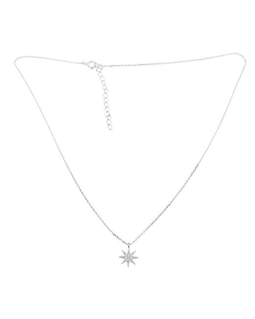 Azendi | Metallic Sterling Silver North Star Pendant | Lyst