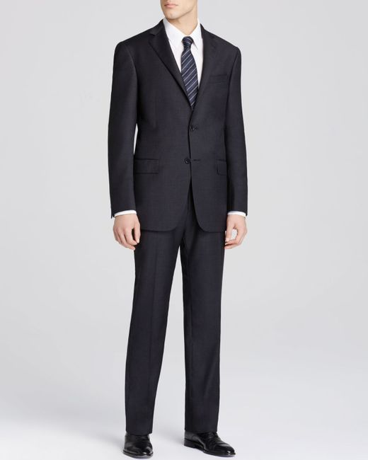 Hart Schaffner Marx | Gray Platinum Label New York Solid Classic Fit Suit - Bloomingdale's Exclusive for Men | Lyst