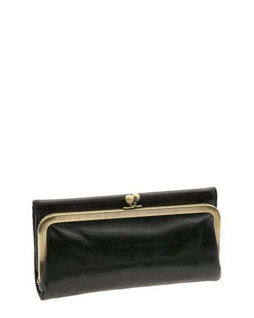 Hobo   Black 'rachel' Frame Wallet   Lyst