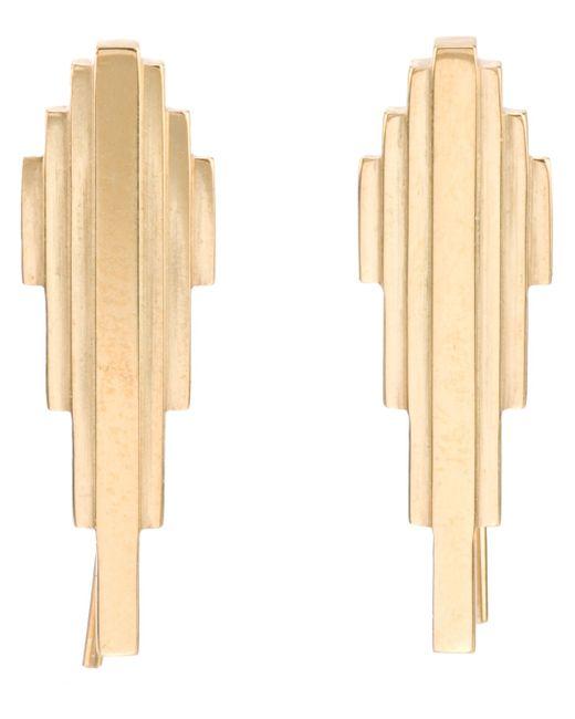 Clarice Price Thomas | Metallic 'antumbra Wing' Lobe Earrings | Lyst
