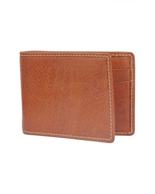 Trafalgar | Brown 'hawthorne' Money Clip Wallet for Men | Lyst