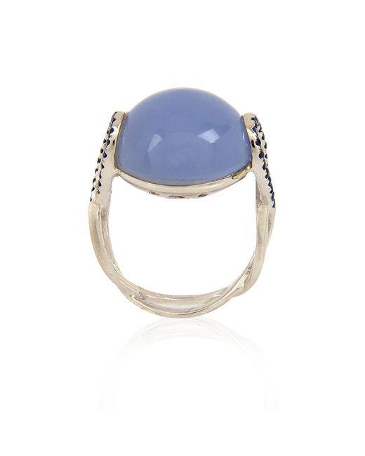 Alexandra Alberta   Blue Aphrodite Ring   Lyst
