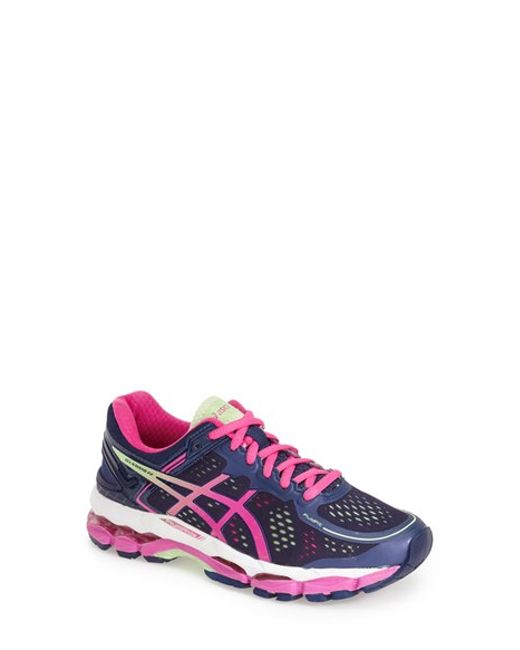 Asics | Pink 'gel-kayano 22' Running Shoe | Lyst