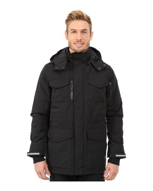 Khombu | Black Parka Jacket for Men | Lyst