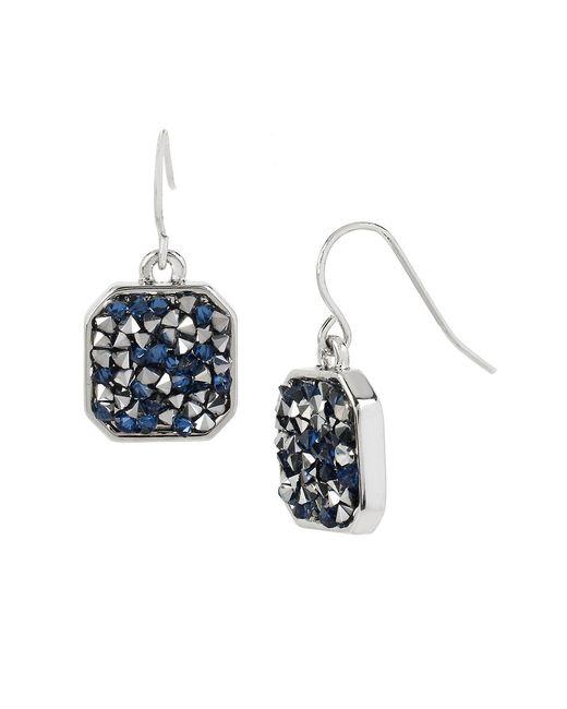 Kenneth Cole | Blue Mixed Stone Drop Earrings | Lyst