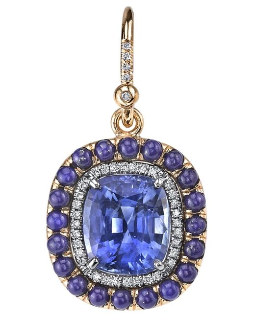 Irene Neuwirth | Metallic Sapphire Lapis Earrings | Lyst