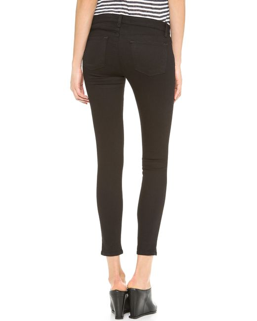 Vanity Jeans For Men : J brand photo ready low rise skinny jeans in black