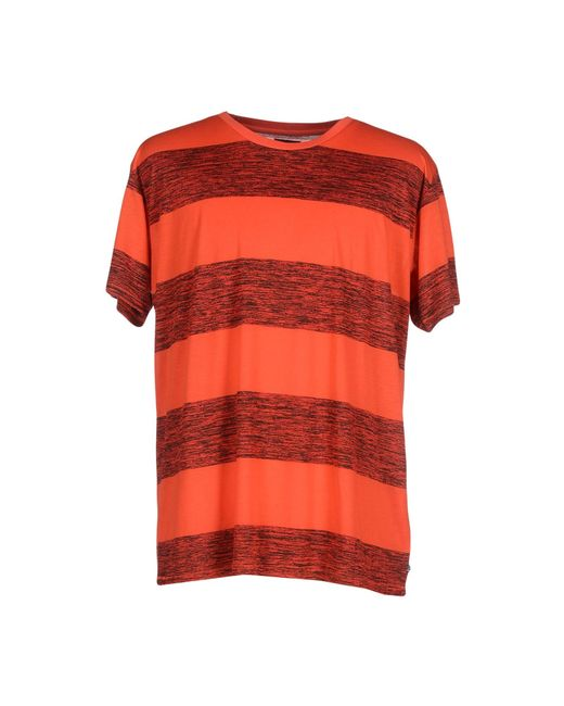 Cheap Monday | Red T-shirt for Men | Lyst