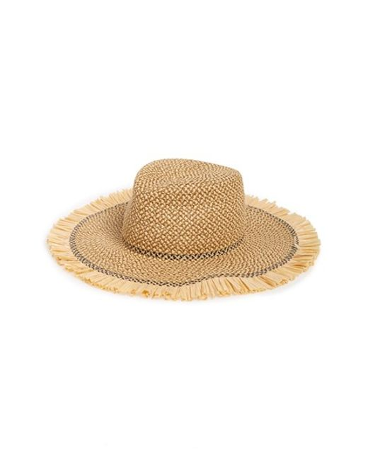 eric javits packable squishee straw hat in