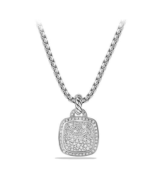 David Yurman | Metallic Albion® Pendant With Diamonds, 14mm | Lyst