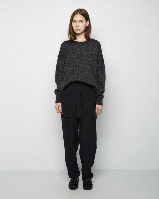 isabel marant tam mohair pullover in black faded black save 51 lyst. Black Bedroom Furniture Sets. Home Design Ideas