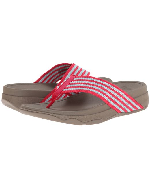 Fitflop | Red Surfa | Lyst
