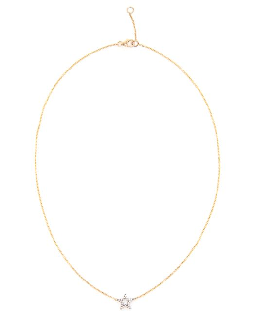 Rosa De La Cruz | Metallic Diamond Star Pendent Necklace | Lyst