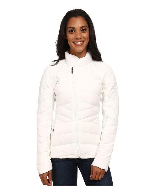 The North Face | White Lucia Hybrid Down Jacket | Lyst