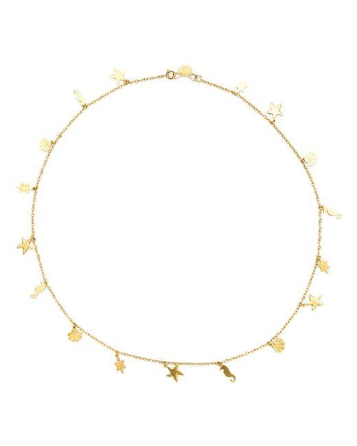 Marie-hélène De Taillac | Metallic Hawaii Charm Necklace | Lyst
