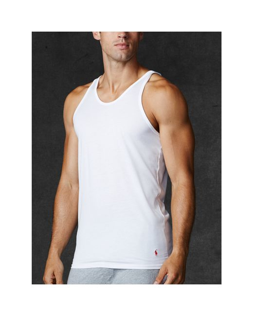 Polo Ralph Lauren | White Supreme Comfort Tank 2 Pack for Men | Lyst
