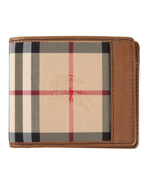 Burberry | Brown Horseferry Check Hipfold Wallet | Lyst