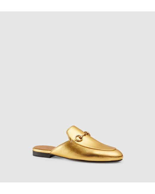 Gucci | Multicolor Princetown Leather Backless Loafers | Lyst
