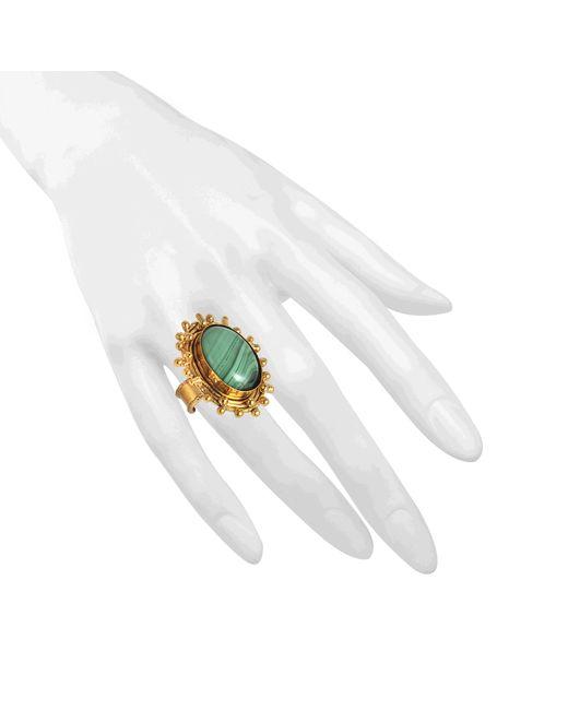 Sylvia Toledano   Metallic Dots Onyx Ring   Lyst