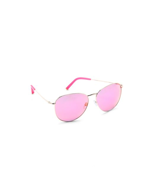 Matthew Williamson Revo Mirrored Sunglasses In Pink Lyst