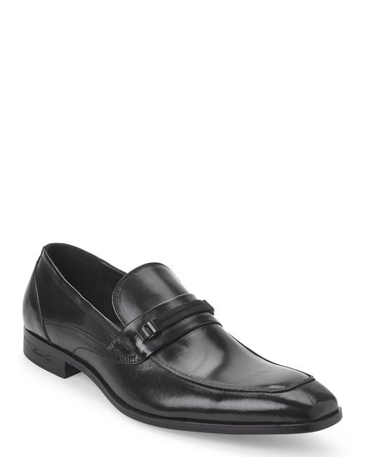 kenneth cole black chair slip on shoes in black for