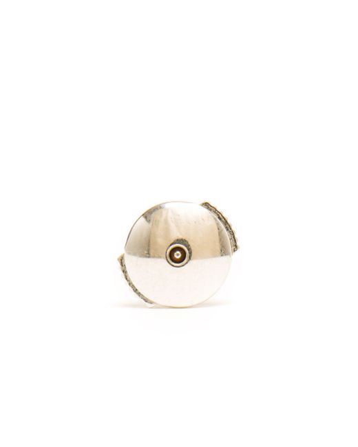 Yvonne Léon | White 18k Gold And Pearl Stud Earring | Lyst