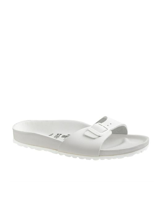 J.Crew | White Women's Birkenstock Madrid Exquisite Sandals | Lyst