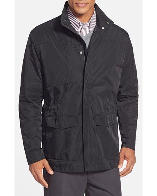 Cutter & Buck   Black 'birch Bay' Weathertec Water Resistant Field Jacket for Men   Lyst