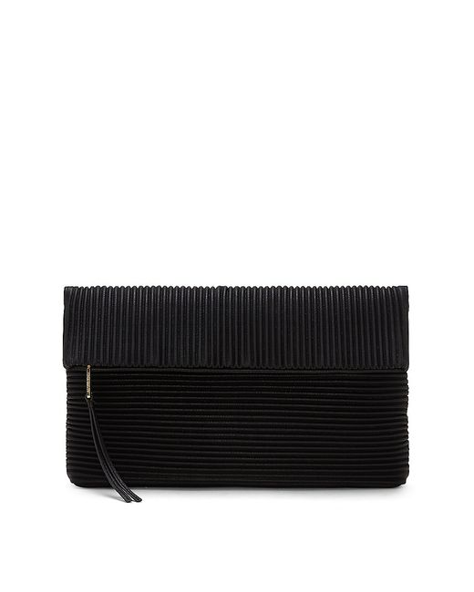 Vince Camuto | Black Karli - Ribbed Clutch | Lyst