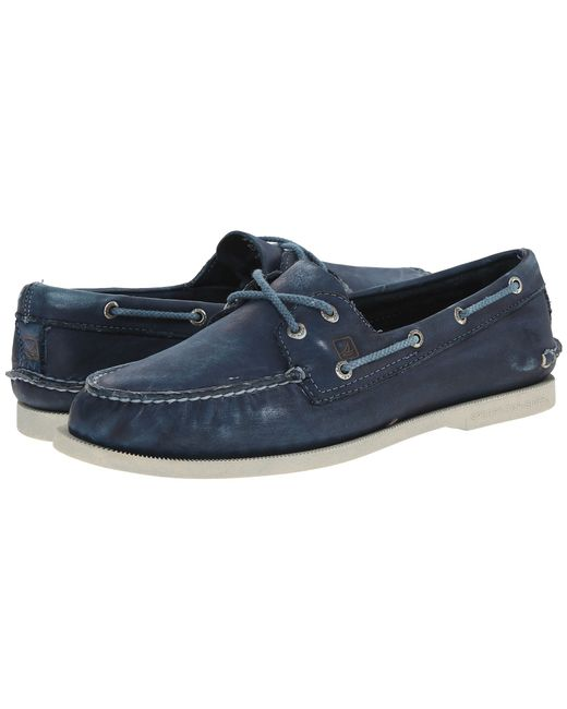 Sperry Top-Sider   Blue A/o 2-eye Color Wash 2 for Men   Lyst